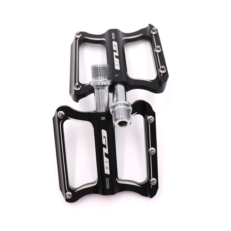 Image 2 - GUB CNC Aluminum Alloy Mountain Bike MTB Pedals Road Cycling DU Sealed Bearing Bicycle Pedals UltraLight Bike Pedal Parts-in Bicycle Pedal from Sports & Entertainment