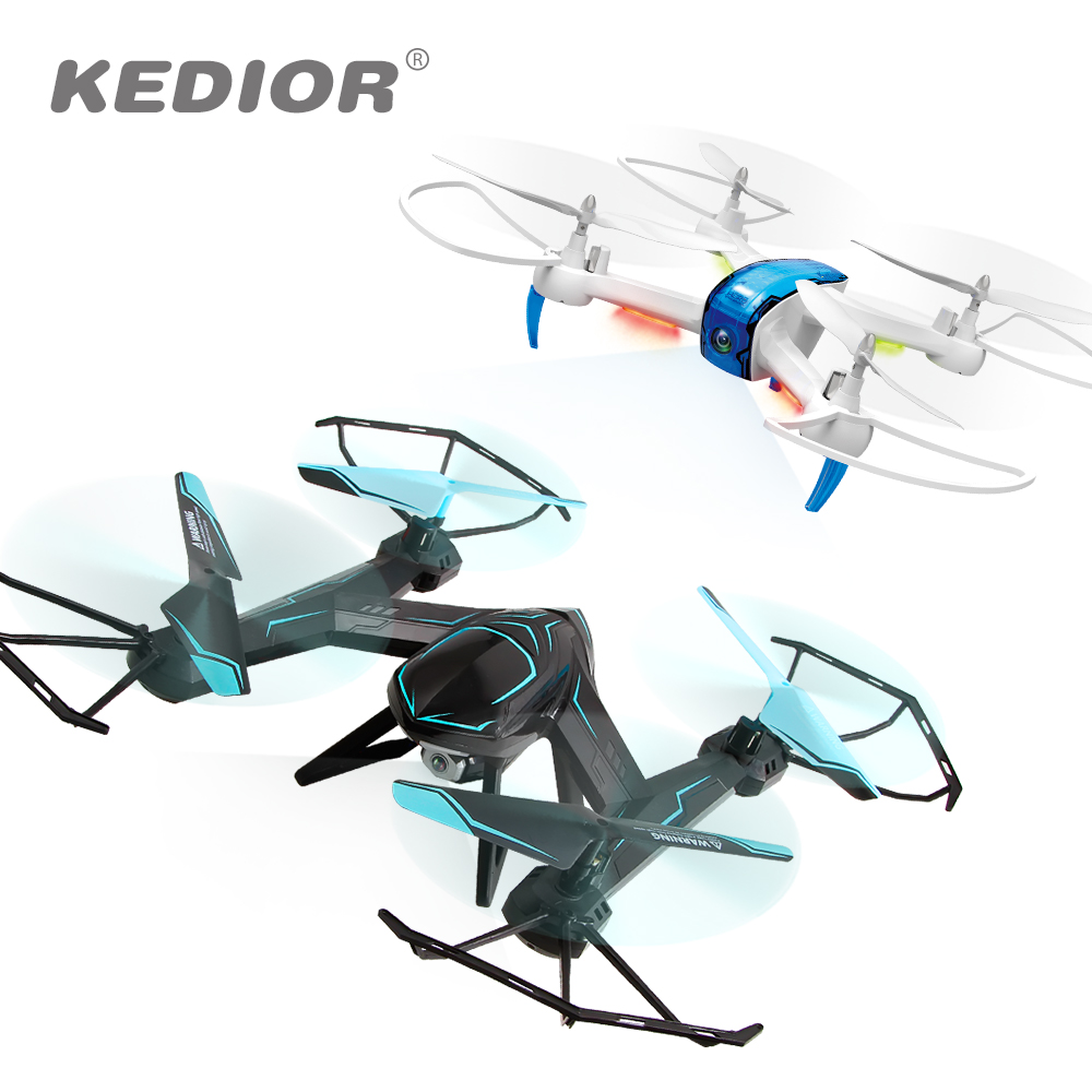 KEDIOR Hero 3 Multicopter Drone with Camera Live Video HD 720P FPV RC Quadcopter 13mins Flying Remote Helicopter Toys VS X8SW new jjrc h51 rc helicopter mini selfie drone with camera hd 720p wifi one key return helicopter 6 axis 2 4hz vs h37 mini drone