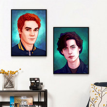 Riverdale Jughead Jones Jkapa Canvas Posters Prints Wall Art Painting Oil Decorative Picture Modern Home Decoration Accessories(China)