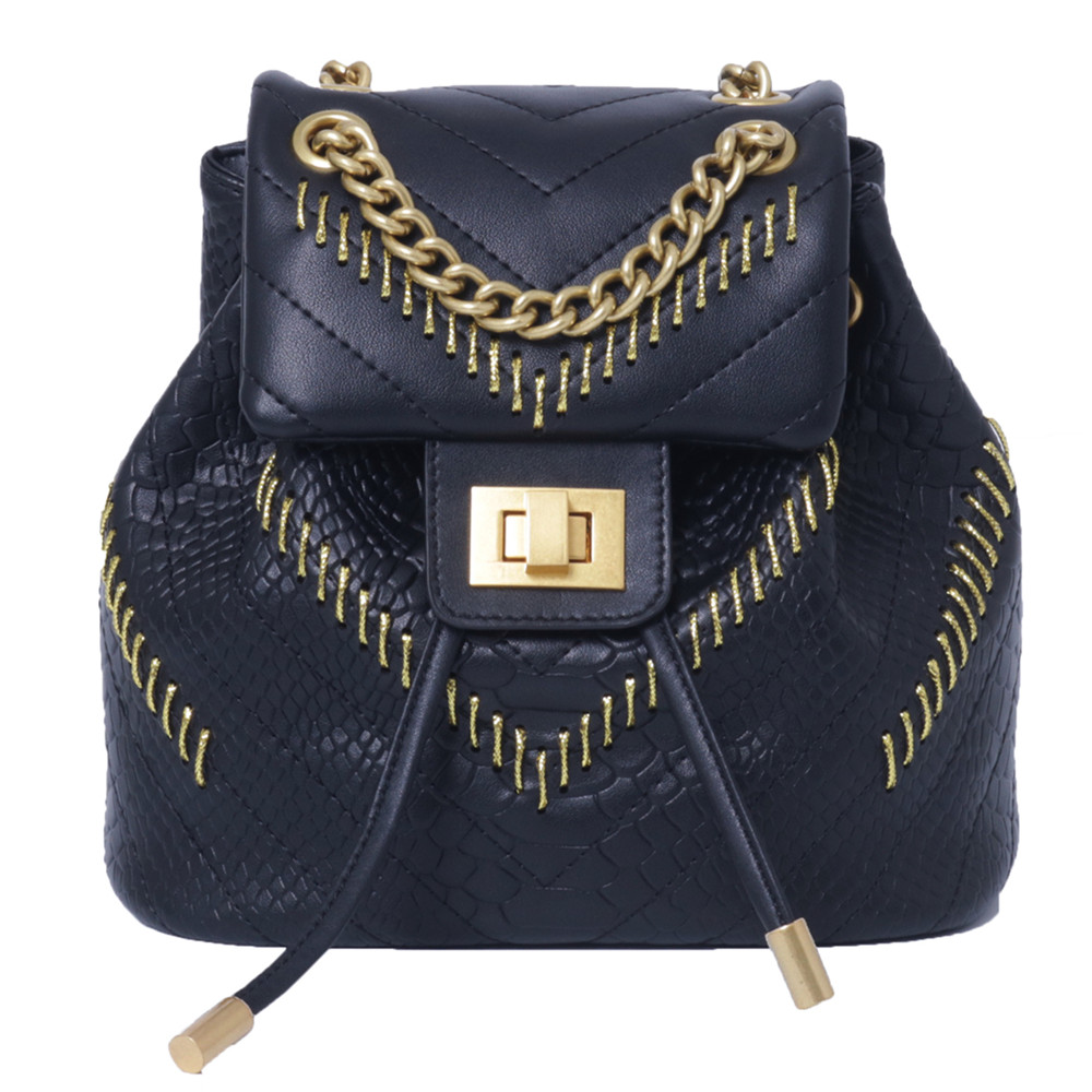 Famous Branded Backpack Bags Luxury Designer Bag High Quality Genuine Leather Women Shoulder Bag 2018 luxury branded design women twill trimmed printed genuine leather shoulder bag