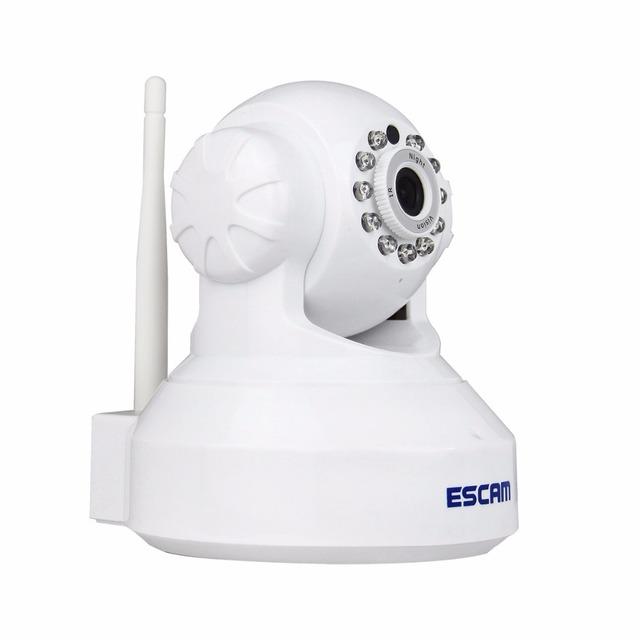 720 P 1.0MP WiFi Sem Fio Pan Tilt Câmera IP de Rede de Segurança Alarme De Áudio Baby Monitor de Visão Noturna de vigilância Cartão SD TF Slot