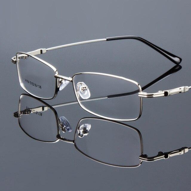 a265835cfa0c Men Classic Glasses Myopia Presbyopia Spectacle Eye Frame Memory Titanium  Alloy Eye Wear