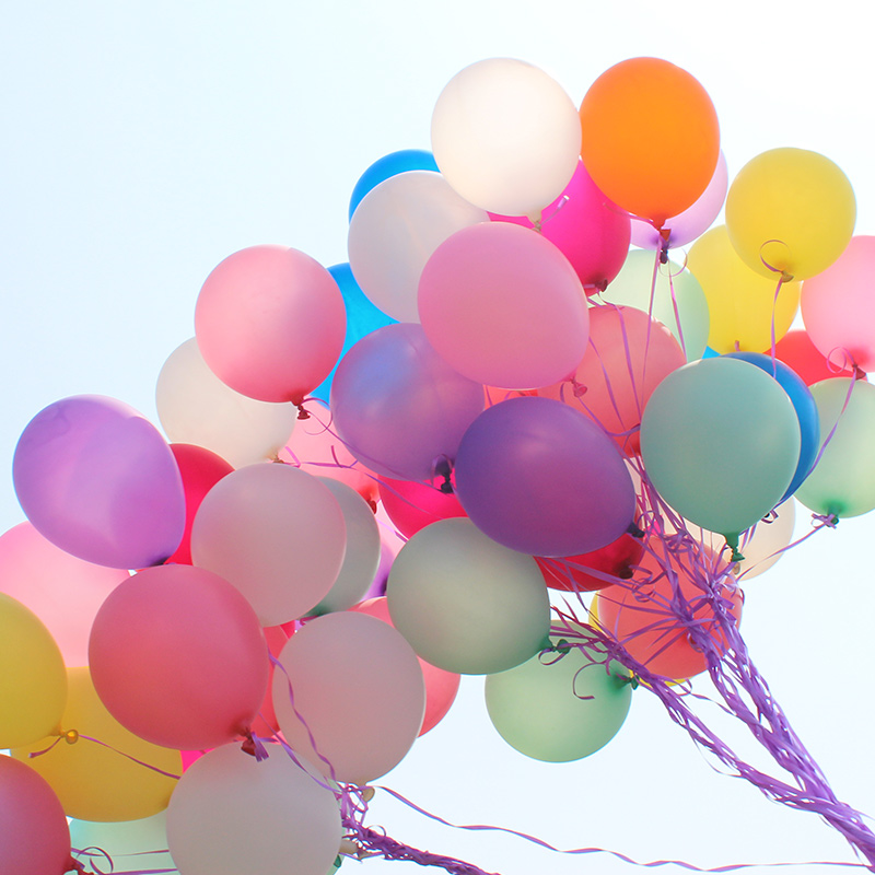 100 Stks 10 Kwaliteit Goedkope Latex Blauw Ballon Balao Roze Party