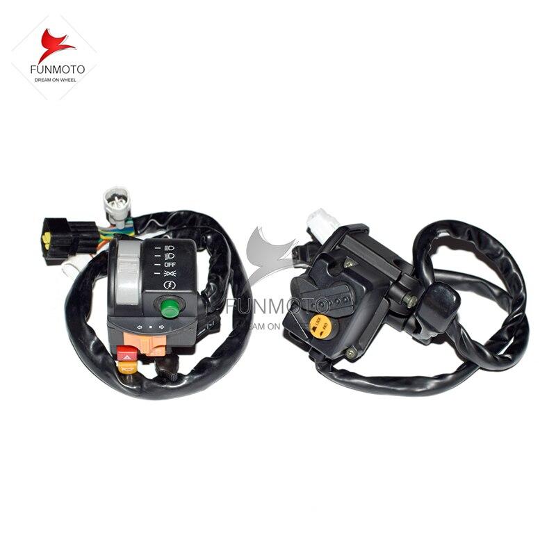 Interrupteur de guidon gauche et droit de CF MOTO 500 HISUN500 LONCIN500 ATV/QUADInterrupteur de guidon gauche et droit de CF MOTO 500 HISUN500 LONCIN500 ATV/QUAD