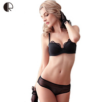 Push Up 1 2 Cup Invisible Bra Sexy Lingerie Lace Bra Set Luxurious Size A D