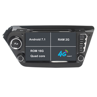 Car DVD Player GPS Navigation System For Kia K2 Rio 2011 2012 2013 2014 2015 With