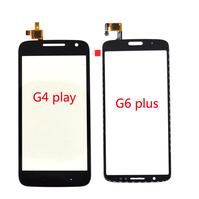For Motorola MOTO G4 PLAY Xt1601 Xt1602 Touch Panel For Moto G6 PLus Screen Front Glass digitizer