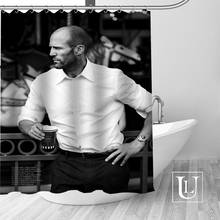 Custom Jason Statham Shower Curtain Modern Fabric Bath Curtains Home Decor Curtains More Size Custom Your image(China)
