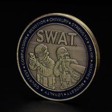 Памятная монета Святого Георгия полицейский специальная полицейская коллекция безопасности художественные ремесла Сувенир Коллекционные монеты
