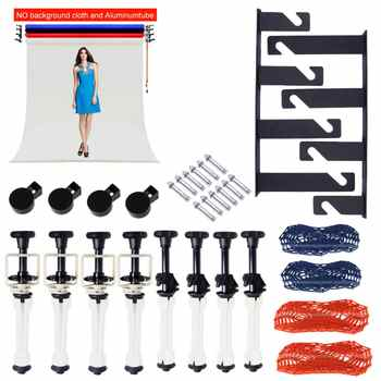 Photo Ptudio Equipment Studio 4 Roller Wall / Ceiling Mount Manual Elevator Background Backdrop Photography Support System - DISCOUNT ITEM  0% OFF All Category