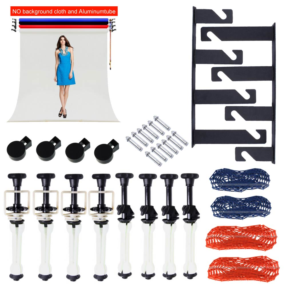 Photo Ptudio Equipment Studio 4 Roller Wall / Ceiling Mount Manual Elevator Background Backdrop Photography Support System image