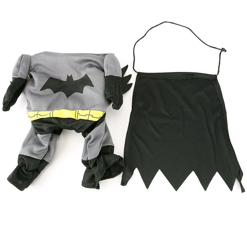 New Cute Pet Cat Dog Batman Costume Suit Puppy Clothes Superhero Outfit Apparel Clothing for Small dogs -in Dog Coats u0026 Jackets from Home u0026 Garden on ...  sc 1 st  AliExpress.com & New Cute Pet Cat Dog Batman Costume Suit Puppy Clothes Superhero ...