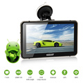 """CARCHET GPS Navigator 7"""" Android 2.4G GPS WIFI 1080P HD DVR Dash Cam LED Touchscreen FM 800*480 Built-in 512MB 8G America Map"""