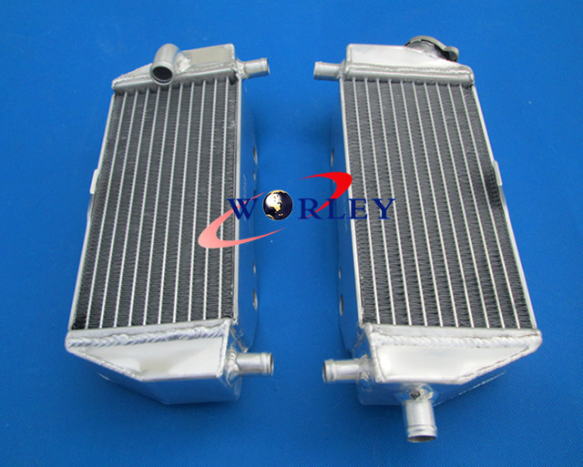 For Kawasaki KX250 KX125 KX 250/125 99-02 99 00 01 02 1999 2000 2001 2002 Aluminum Radiator