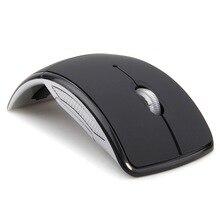 MEMTEQ Mouse Sem Fio 2.4 Ghz Computer Mouse Dobrável Folding Optical Receiver Ratos USB para PC Portátil Computador Desktop