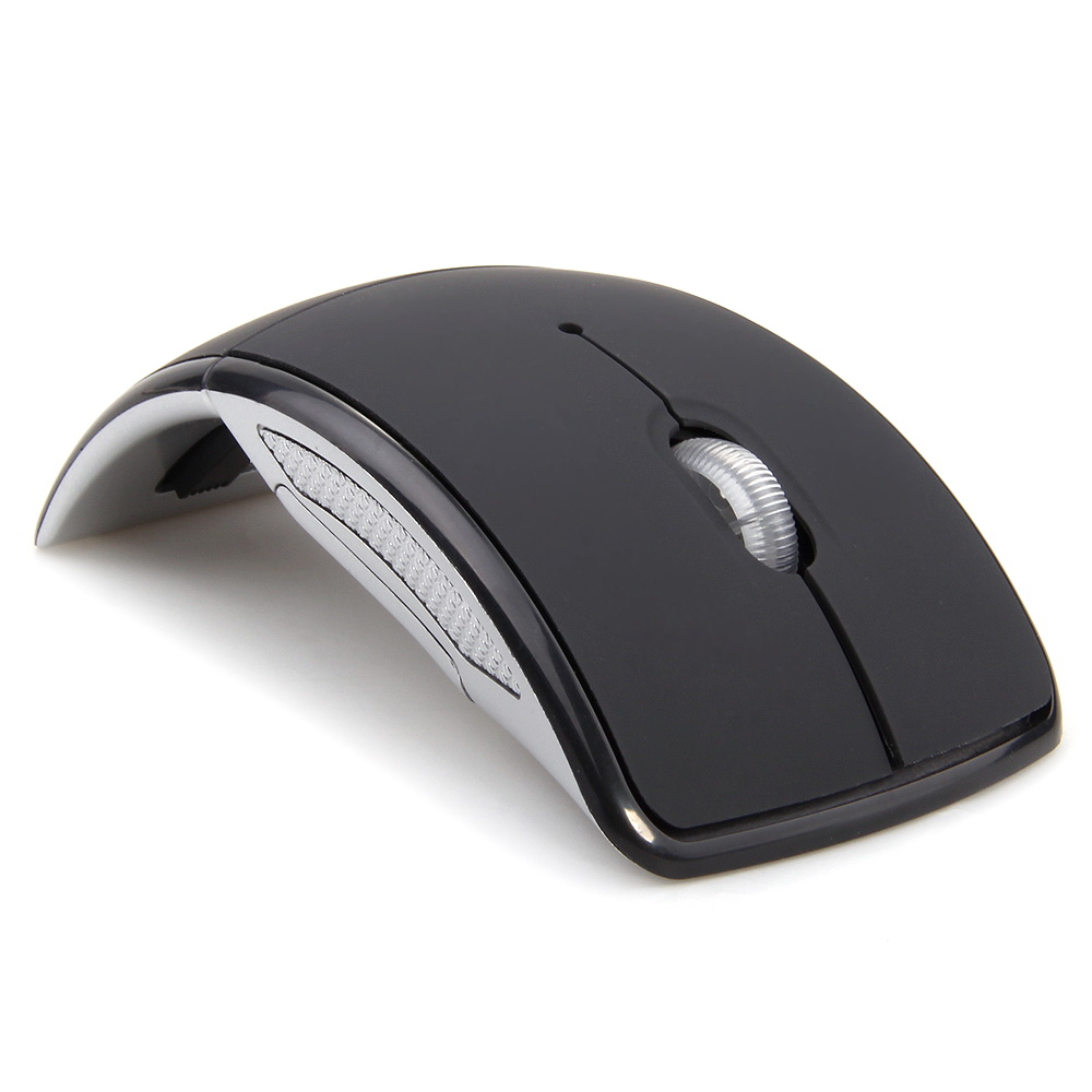 MEMTEQ Wireless Mouse 2.4 Ghz Computer Mouse Foldable Folding Optical Mice USB Receiver for Laptop PC Computer Desktop labtec wireless desktop optical