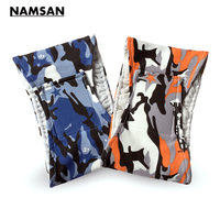 Namsan Male Dog Diaper Wrap Washable Dog Belly Bands For Male Dogs Blue Camouflage Pet Dog