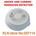 Carbon Monoxide (CO) Gas Detector and Smoke Fire Alarm Sensor Combination Alarm Monitors the Presence of CO or Potential Fire.