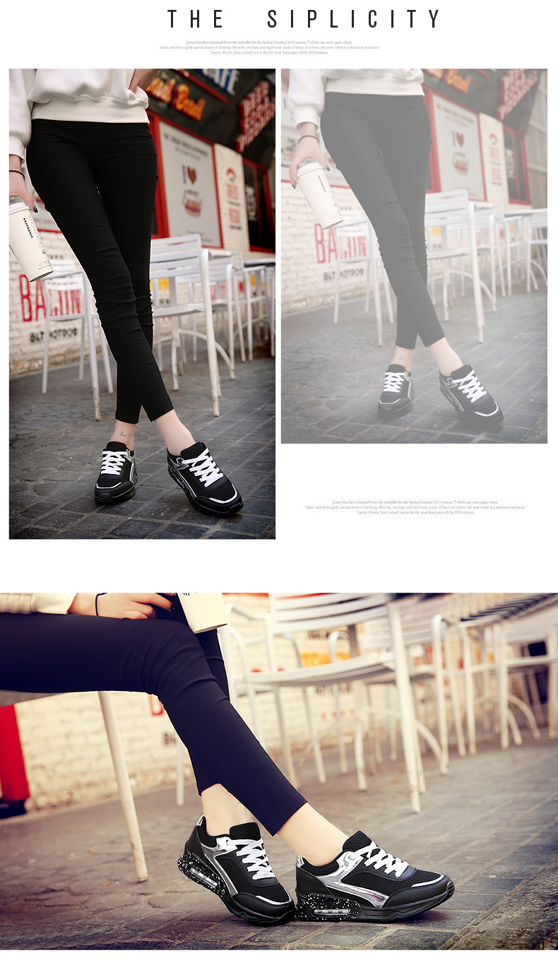 Air Mesh Women Casual Shoes Fashion Lace Up Shallow Shoes Woman Flat Heel Sport Trainers Size 35-40 Quality Walking Shoes ZD30 (13)