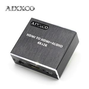 Image 1 - AIXXCO HDMI Audio extractor HDMI met Optische TOSLINK SPDIF + 3.5mm Stereo Audio Extractor Converter HDMI Audio Splitter