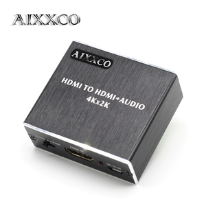 Image 1 - AIXXCO HDMI Audio extractor HDMI to HDMI with Optical TOSLINK SPDIF + 3.5mm Stereo Audio Extractor Converter HDMI Audio Splitter