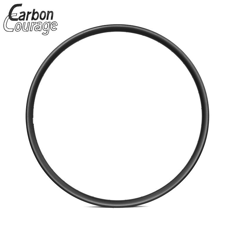 700C 35mm Width Hookless Mountain Bike XC Carbon Fiber Rims Clincher Tubeless UD Matte 32 Holes 27.5 Inch MTB Carbone Wheelset factory direct mountain bike clincher wheelset 29 inch 27 5er carbon mtb wheels 29er 650b carbon mtb wheels tubeless rims