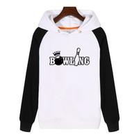 Bowl Bowler Game Hoodies fashion men women Sweatshirt winter Streetwear Hoody Thick Hoodie Tracksuit Sportswear GA879