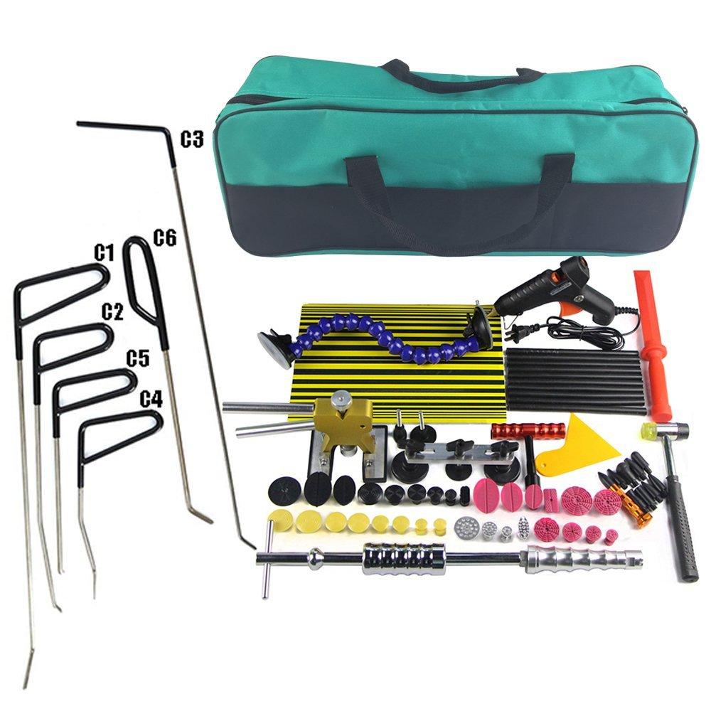 Paintless Dent Repair Tools Kit slide hammer Dent съемник для автомобиля dent Repair Remover Paintless Dent removal tools град повреждение