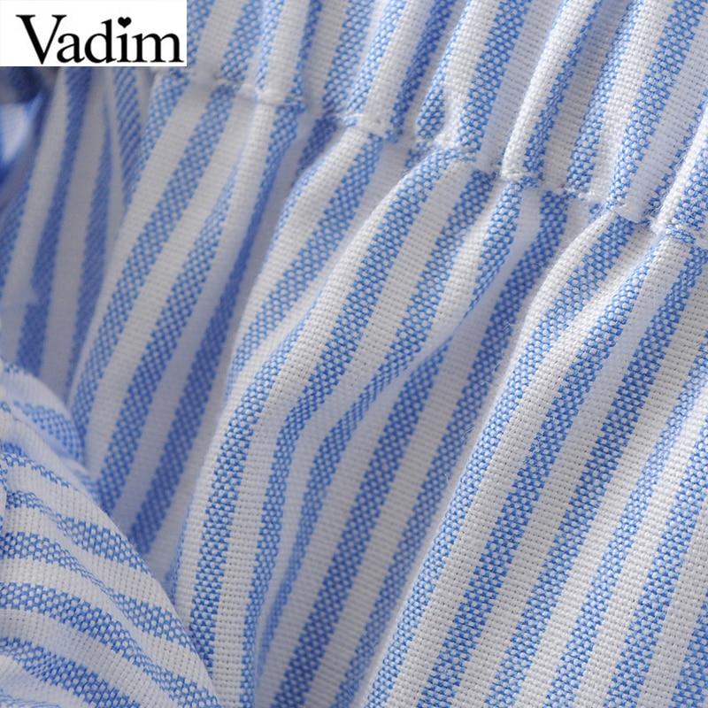 Женщины sweet кокосовой пальмы печати полосатые юбки faldas mujer эластичный пояс карманы дамы уличной моды середины икры юбка bsq552