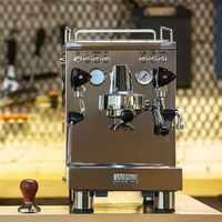 Kd-310 welhome 220v máquina de café espresso/aço inoxidável máquina de café espresso com zd-16 moedor de café