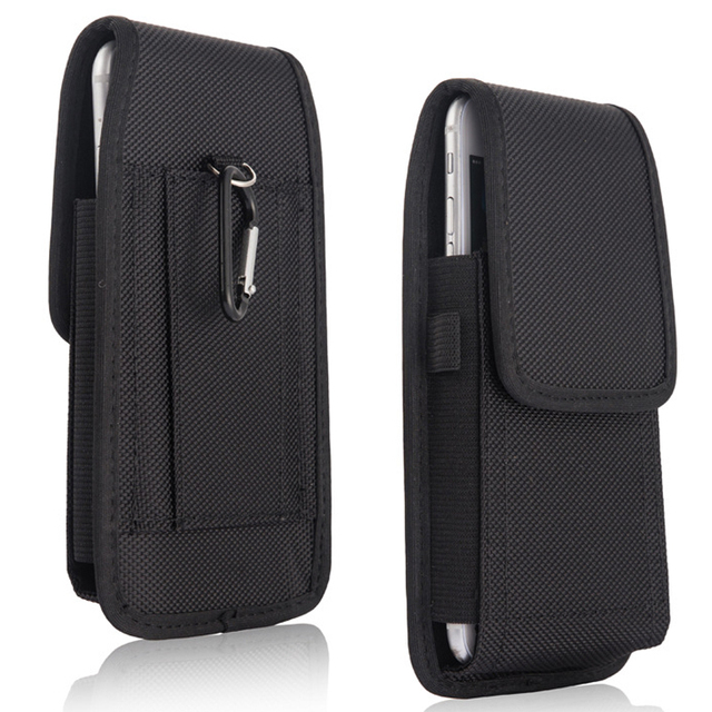 premium selection 5b66e dcbd2 US $4.04 9% OFF|Waist Holster Case for Xiaomi Redmi Note 5 Pro Case Cover  Nylon Bag Carabiner Belt Clip Pouch for Xiaomi Redmi Note 5 Pro Global-in  ...