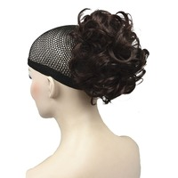 StrongBeauty Short Curly Claw Clip On Hair Ponytail Hairpiece Synthetic Extension Wig 42 Color
