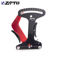 ZTTO CNC Bicycle Tool Spoke Tension Meter For MTB Road Bike Wheel Spokes Checker Reliable Indicator Accurate and Stable TC 1