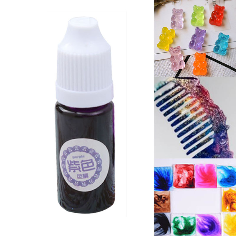 082 31 De Descuento1 Piezas De Resina Uv Pegamento Pigmento De Color Líquido Para Colorear De La Fabricación De La Joyería Diy Manualidades