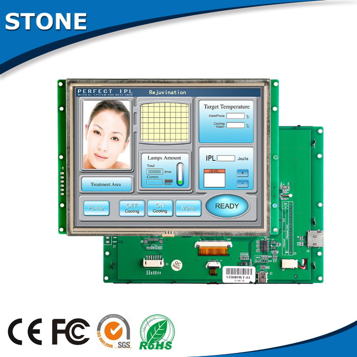 8 Inch 800*600 TFT LCD Screen With Touch Control And Wide Voltage