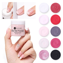 UR SUGAR 30ml Dip Nail Powder Set Glitter Holographic French Nails Manicure Dry without Lamp Chrome Dipping Pigment Dust