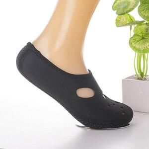 Удобные нескользящие 3 мм плавники для плавания, носки для подводного плавания, неопреновые носки для плавания для взрослых, детская пляжная обувь, сохраняющие тепло