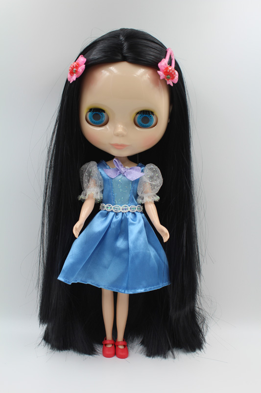 Free Shipping big discount RBL-296DIY Nude Blyth doll birthday gift for girl 4colour big eyes dolls with beautiful Hair cute toy big beautiful eyes косметический набор косметический набор big beautiful eyes