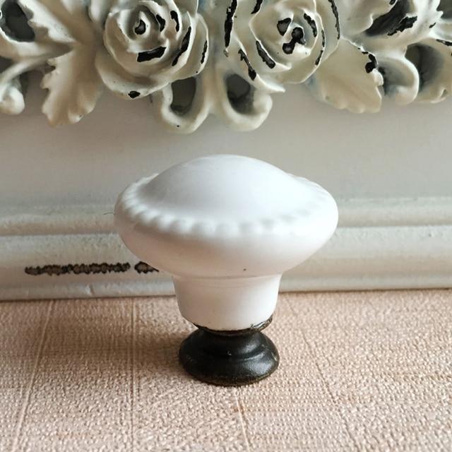 28mm keramik kabinett knöpfe weiß taste schrank kleiderkammer