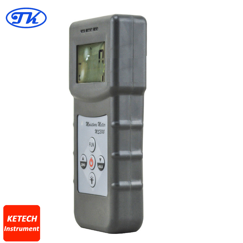 Concrete Moisture Meter MS300 For Wood Bamboo,Carton ,Concrete,Metope ms310 tobacco moisture meter with wood paper bamboo concrete metope and other material
