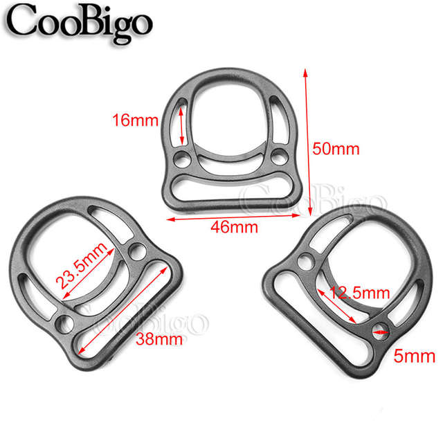 dd2d2849eeaaf 2pcs Plastic Multiuse Durable D Ring Buckles For Hooks EDC Molle Tactical  Backpack Straps Webbing Ring 20mm~50mm-in Buckles & Hooks from Home &  Garden on ...