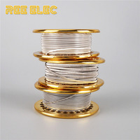 REE ELEC Clapton Alien NI80 Heating Wires 5M Roll High Quality Nichrome Clapton Wire For RDA
