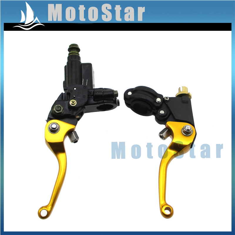 CNC Folding Brake Clutch Lever For Chinese XR CRF50 SSR Thumpstar Pit Dirt Bike