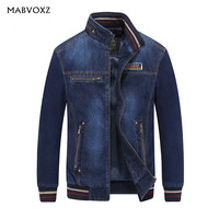 Vintage Classic AFS JEEP Brand Men Jeans Jackets Denim Coats Spring Autumn Winter New 2017 Casual