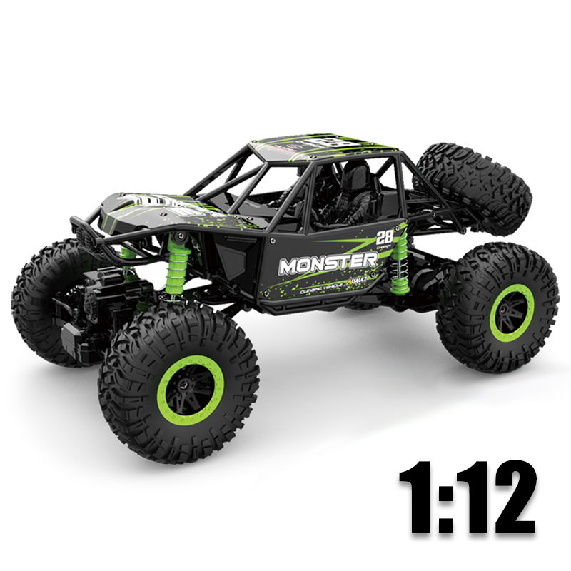 RC Car 1:12 4WD Machine On The Remote Control High Speed Vehicle 2.4Ghz Electric RC Toys Rradio-Controlled Cars Toys Kids Gifts