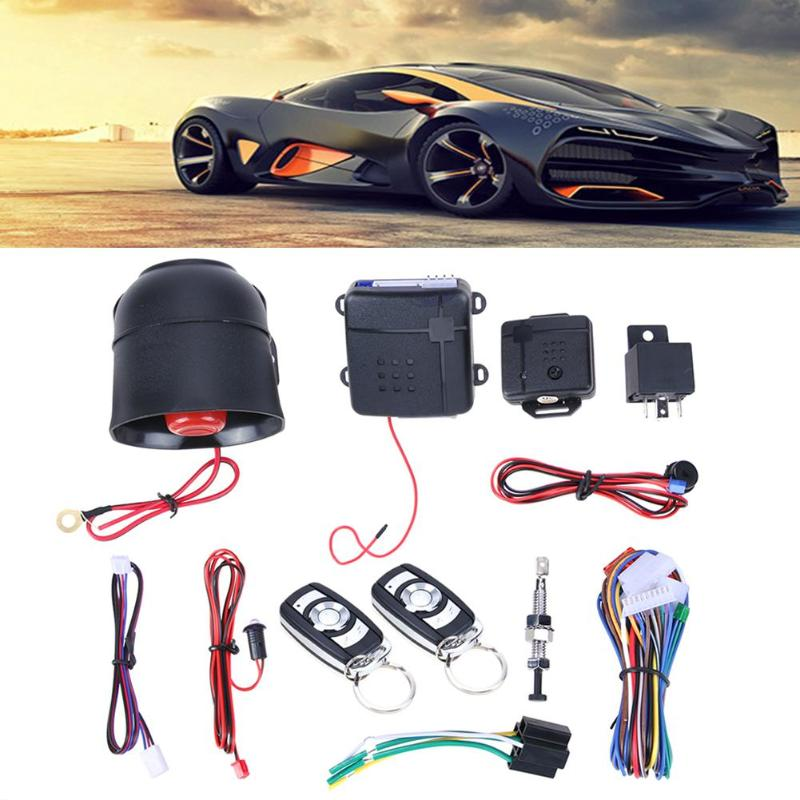 Car Vehicle Auto Burglar Alarm Protection Keyless Entry Security System