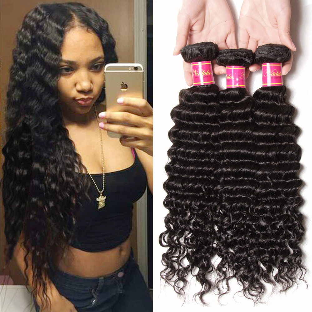 7a Indian Virgin Hair Deep Wave 100 Indian Human Hair