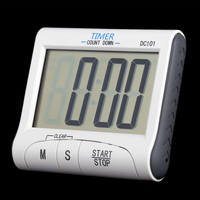 New Large LCD Digital Kitchen Timer Countdown Cooking Timer Count Down Alarm Clock Kitchen Accessories Tools