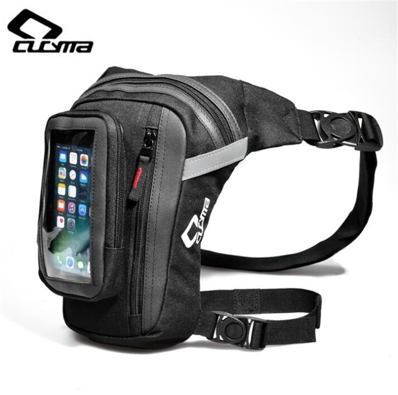 Automobiles & Motorcycles Motorcycle Accessories & Parts Komine Motocross Motorcycle Leg Bag Waist Packs Waterproof Knight Riding Travel Leisure Multifuntional Bags Man Pouch