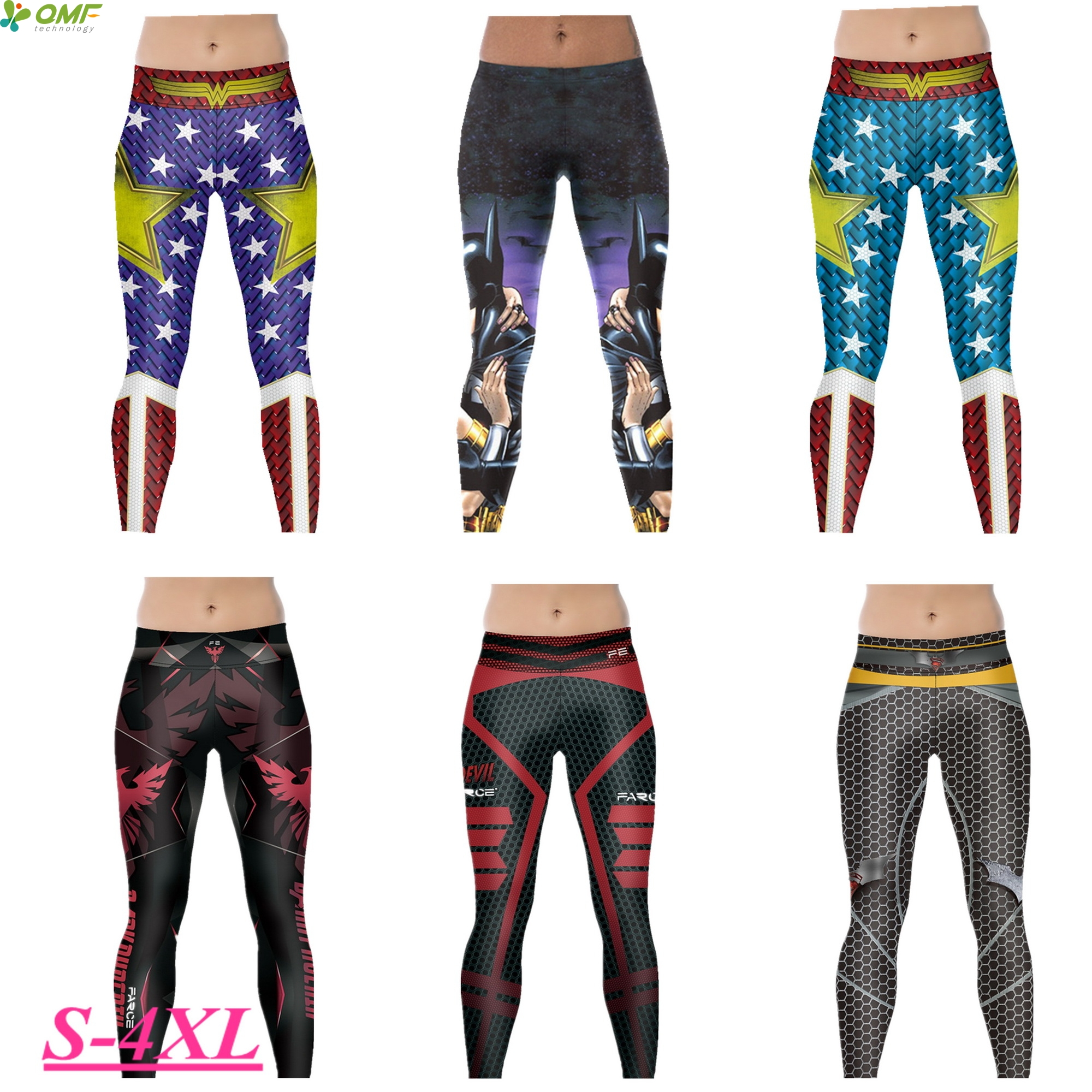 cf79e3a2e8a44 Detail Feedback Questions about Batman V Superman Power Flex Yoga Pants  Batman Wonder Woman Running Tights Justice League Sport Trousers Skinny  Leggings ...